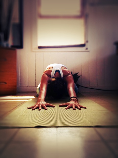 Entered the @growsobeautiful challenge today by submitting my Childs Pose (balasana) - I could stay in this pose forever.