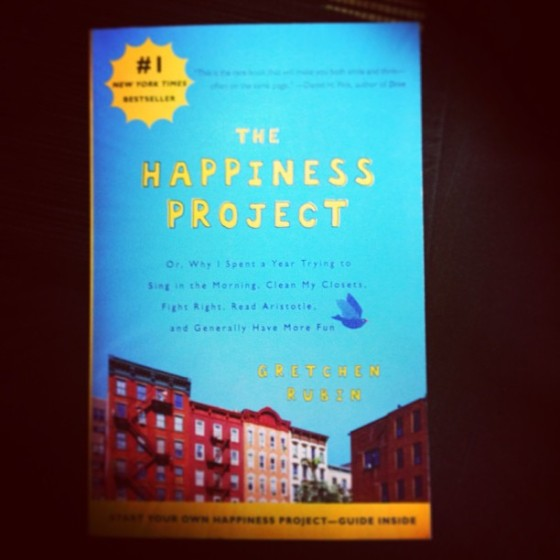 The Happiness Project unconsiously found itself in my shopping cart. Let's see if I can find the secret formula of adding joy to the mix.