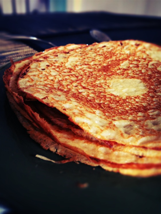 Homemade Swedish Pancakes on the Menu this Sunny Tuesday!